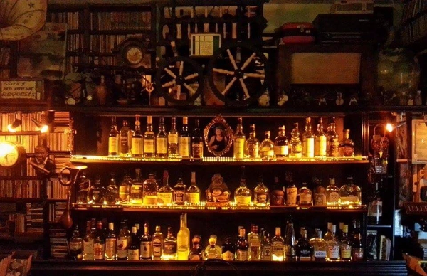 Great whiskey bar